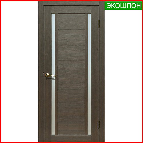 Дверь межкомнатная La Stella 203 в экошпоне цвет дуб мокко по низкой цене с доставкой и установкой в Екатеринбурге