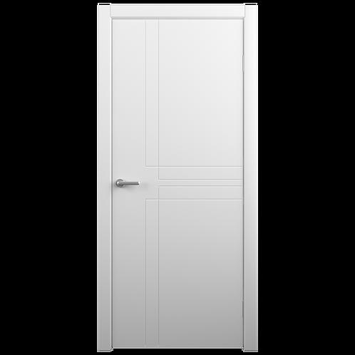 Межкомнатная дверь Vinyl Сигма ДГ белый