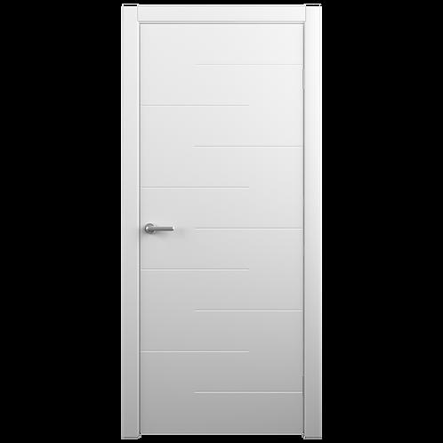 Межкомнатная дверь Vinyl Дельта ДГ белый
