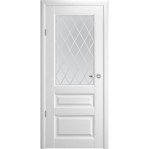 Межкомнатная дверь Vinyl Эрмитаж-2 ДО  белый винил
