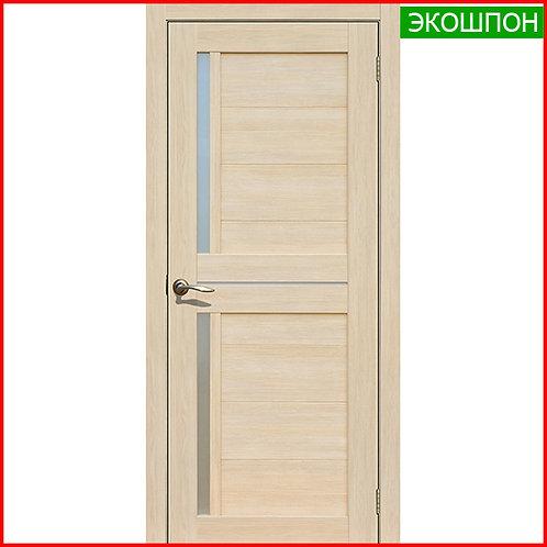 Дверь межкомнатная La Stella 202 в экошпоне цвет ясень латте по низкой цене с доставкой и установкой в Екатеринбурге
