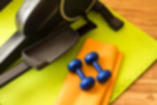 equipment for domestic (home) workouts_