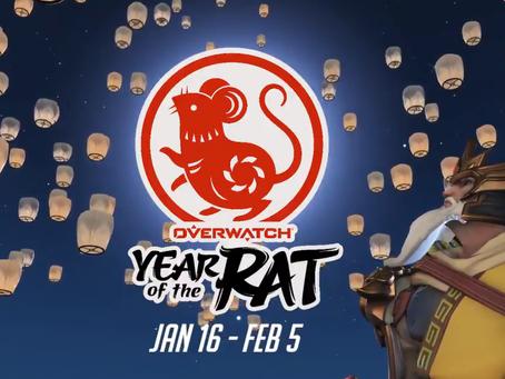 Começou o Ano Novo Lunar em Overwatch!