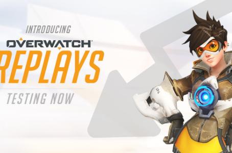 Replay é a nova funcionalidade de Overwatch!
