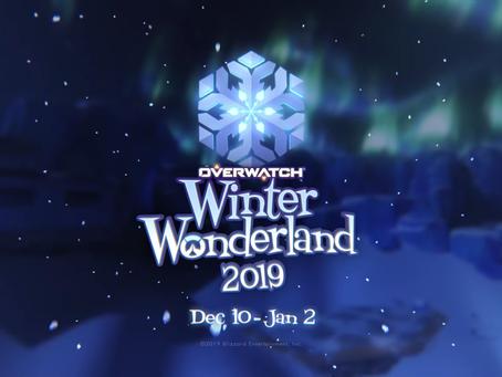 Começou o evento Paraíso Congelado, evento de natal de Overwatch!