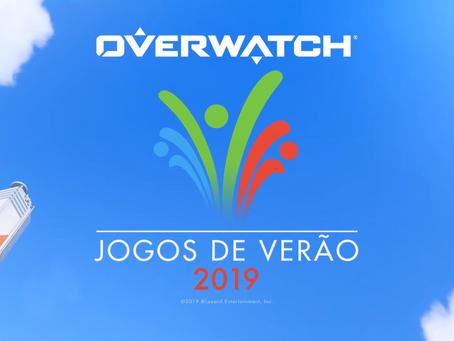 Os Jogos de Verão voltaram em Overwatch!