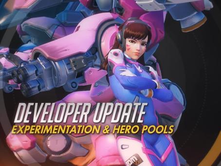 Novas mudanças em Overwatch: Hero Pool e Experimental Card