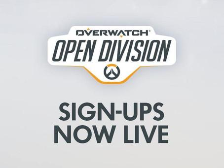 Prepare-se para a próxima Open Division de Overwatch!