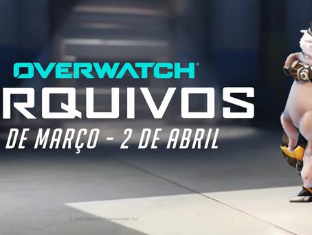 """""""Arquivos"""" está de volta em Overwatch!"""