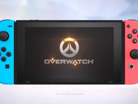 Overwatch terá versão para Nintendo Switch!