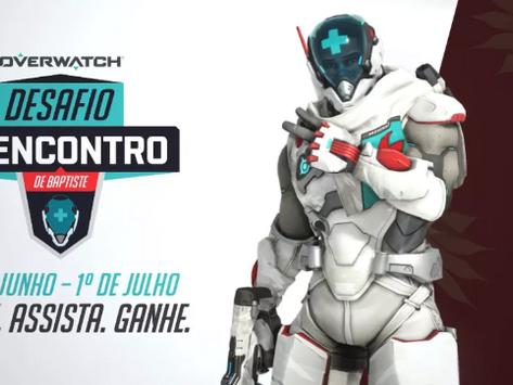 Blizzard lança o Desafio Reencontro de Baptiste!