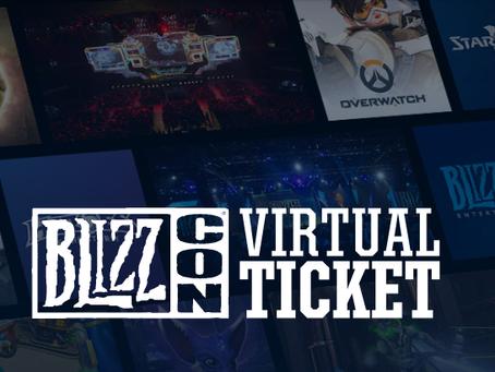 O Ingresso Virtual da BlizzCon 2019 já está disponível!