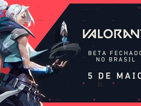 Beta fechado de Valorant chega ao Brasil em Maio!