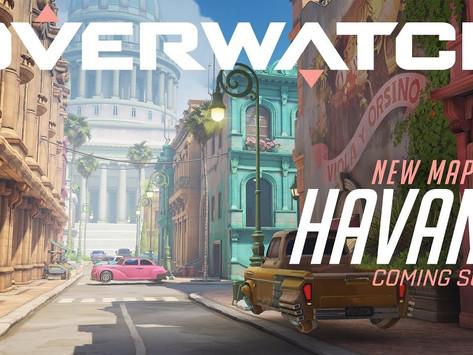 Havana: Novo mapa de Overwatch já está no PTR!