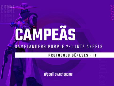 Gamelanders Purple é a campeã do segundo qualify do Protocolo Gêneses