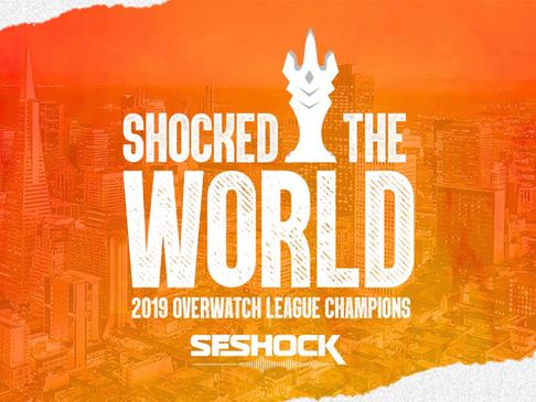 San Francisco Shock é a campeã da Overwatch League 2019!