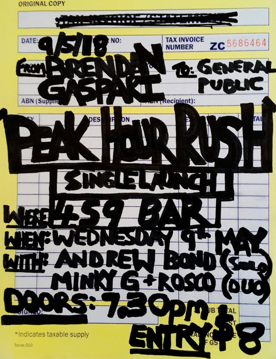 'Peak Hour Rush' - Live Single Launch