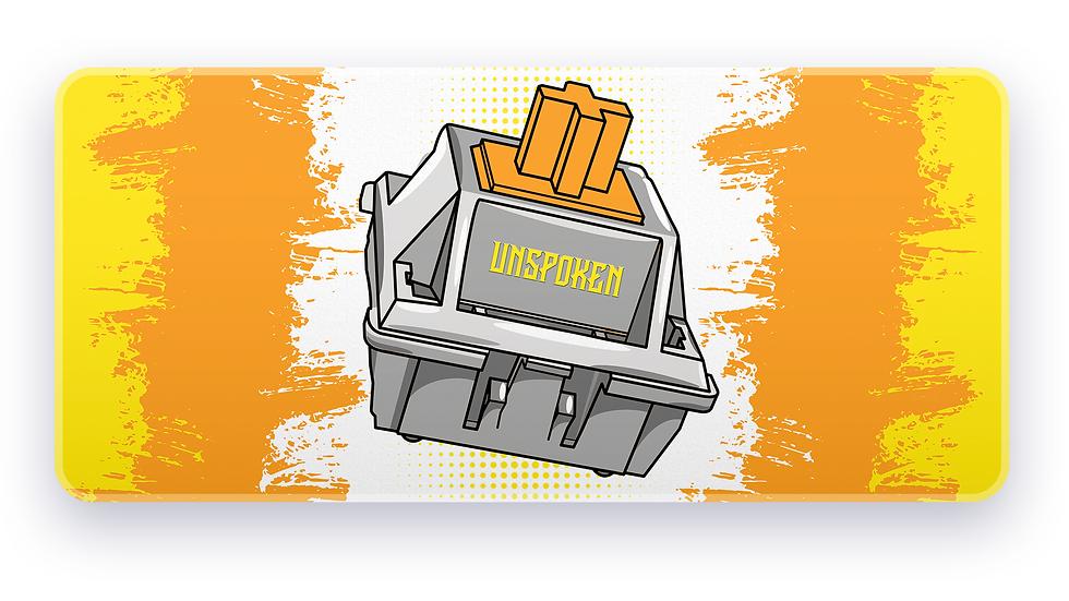 Orange Switch XXL Deskpad (Groupbuy)