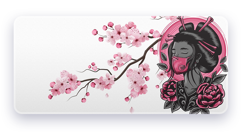 Silent Blossom XXL Deskpad (Groupbuy)