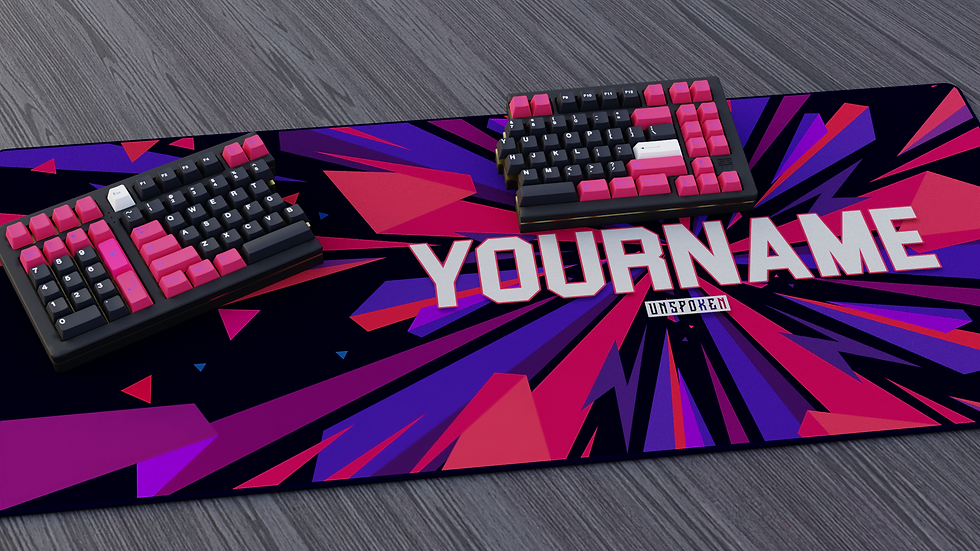 Custom Name XXL Deskpad (Groupbuy)