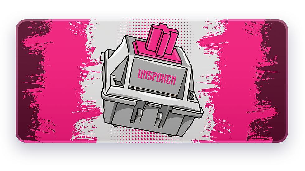 Pink Switch XXL Deskpad (Groupbuy)