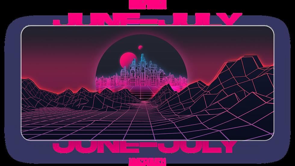 Synthwave XXL Deskpad (Groupbuy/June-July)