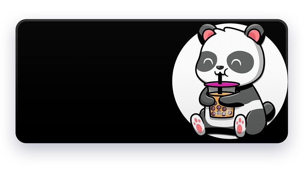 Black&White BobaTea Panda XXL Deskpad Phase 3 (Groupbuy)