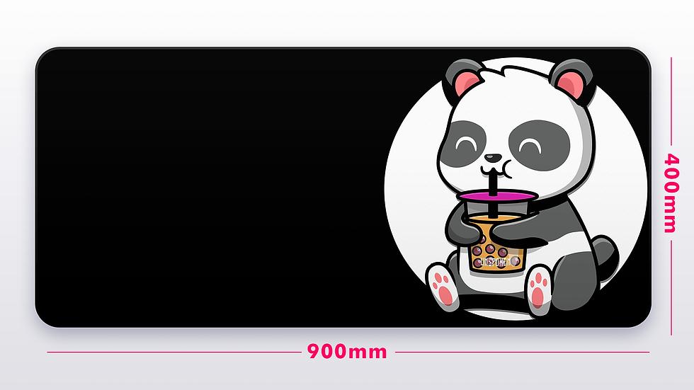 BNW BobaTea Panda XXL Deskpad (GroupBuy)