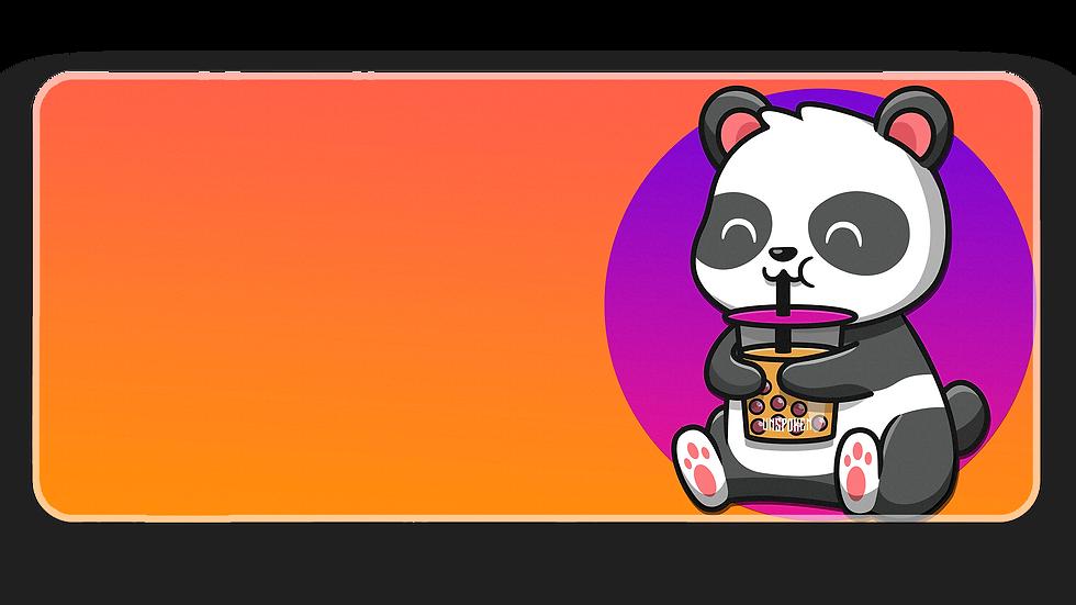 O&P BobaTea Panda XXL Deskpad (In Stock)