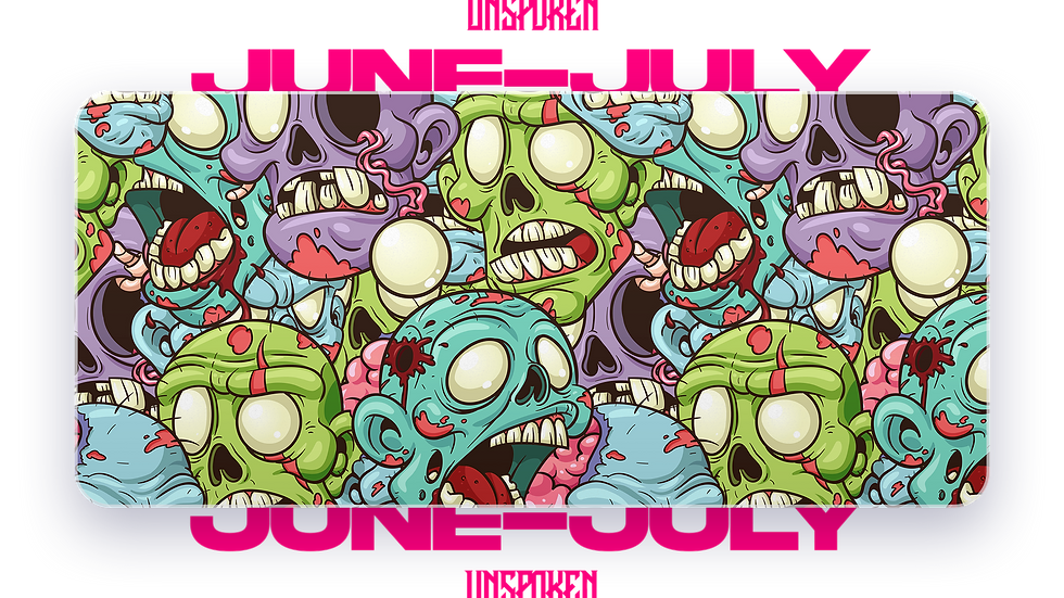Zombie Attack XXL Deskpad (Groupbuy/June-July)