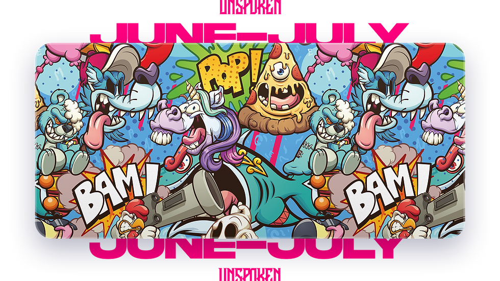 Crazy Cartoon XXL Deskpad (Groupbuy/June-July)