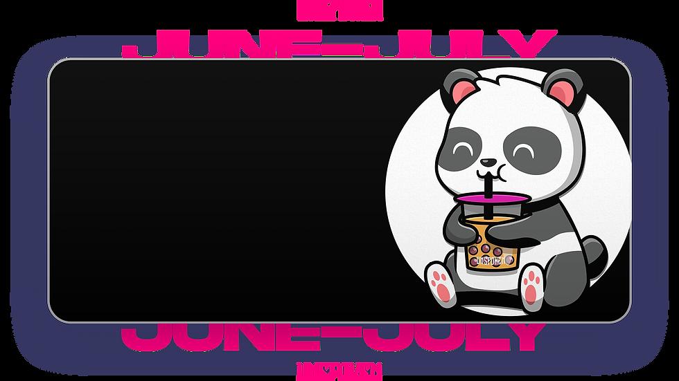 BnW BobaTea Panda XXL Deskpad (Groupbuy/June-July)