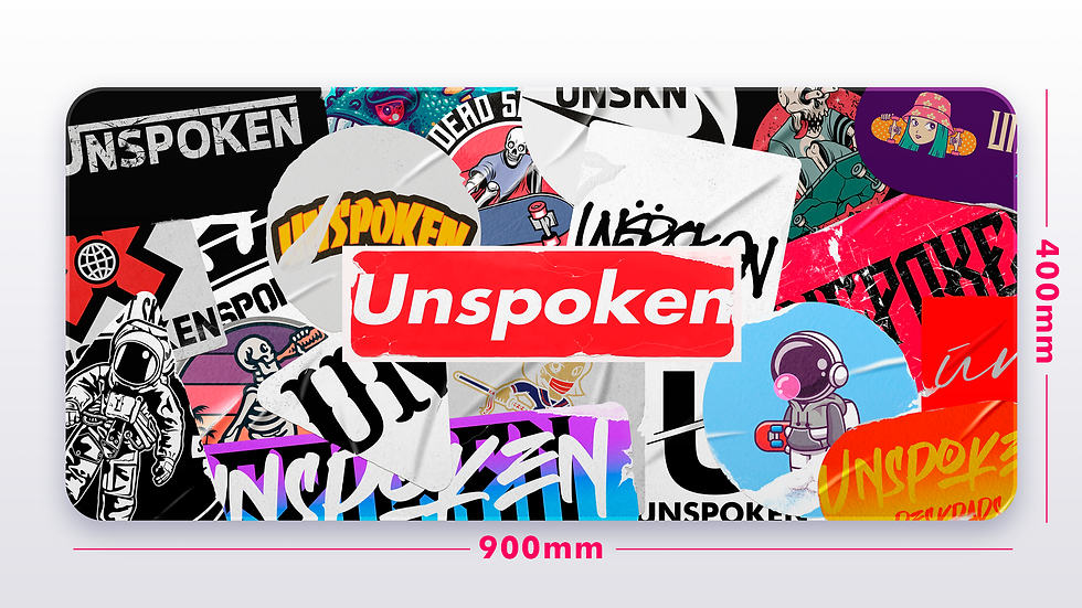 Super Stickerbomb XXL Deskpad (Groupbuy)