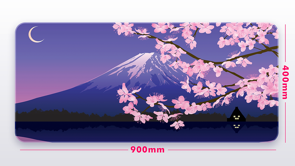 4am At Mount Fuji XXL Deskpad (GroupBuy)