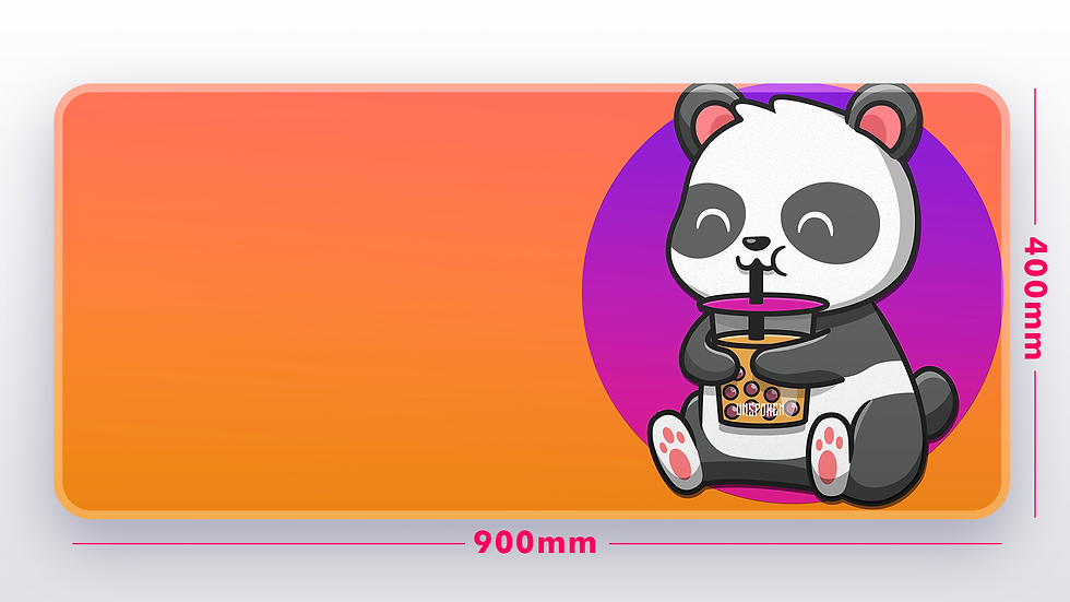 ONP BobaTea Panda XXL Deskpad (GroupBuy)