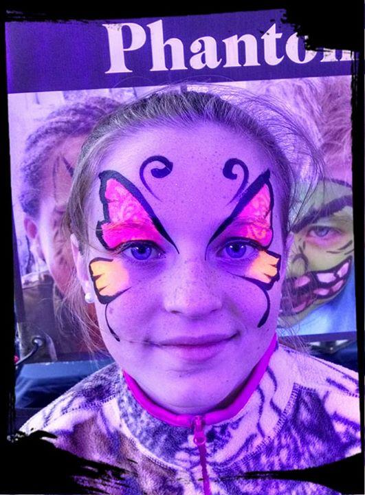 DayGlow Butterfly