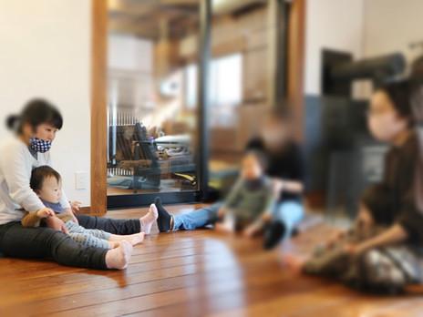2020.11.2 かぷかぷカフェ/森のフォトフレーム作り