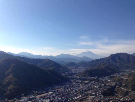 冬の関東低山のおたのしみ