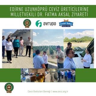 Edirne Milletvekili Dr. Fatma Aksal Uzunköprü Ziyareti