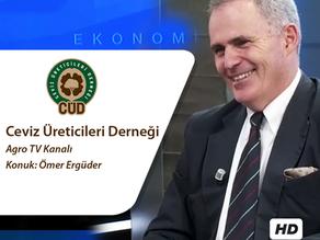 CÜD Eş Başkanı Ömer Ergüder Agro TV'nin Sorularını Yanıtladı