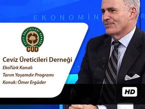 CÜD Eş Başkanı Ömer Ergüder Tarım Yaşamdır Programına Konuk Oldu