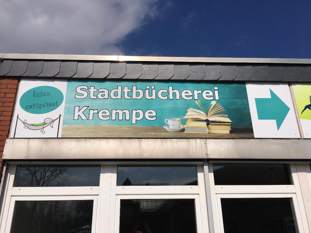 Schild Bücherei