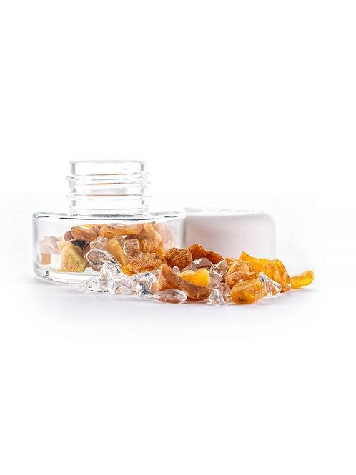 Inu - Crystal Jar - Amber