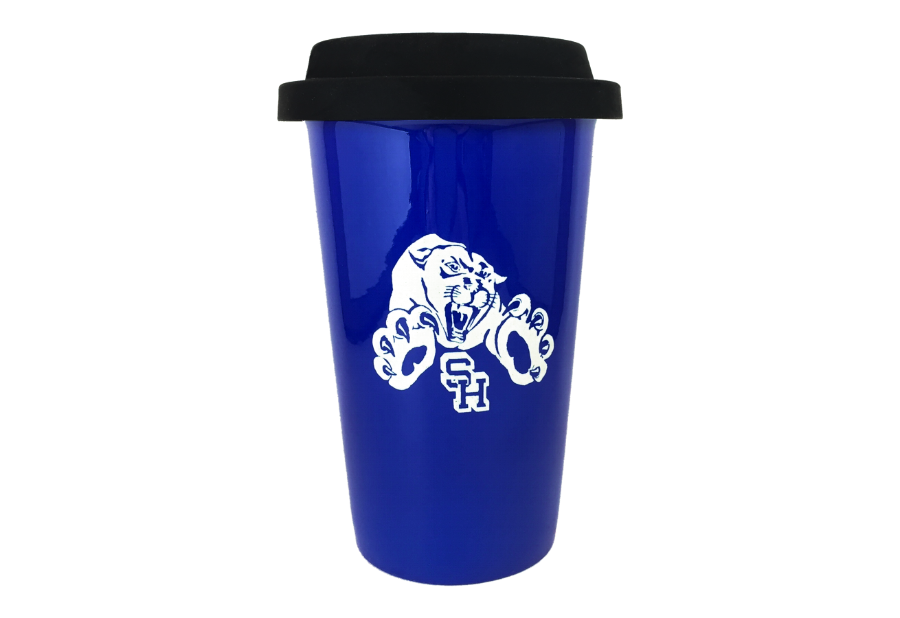 Engraved Mug with School Logo