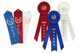 Ribbons and Rosettes