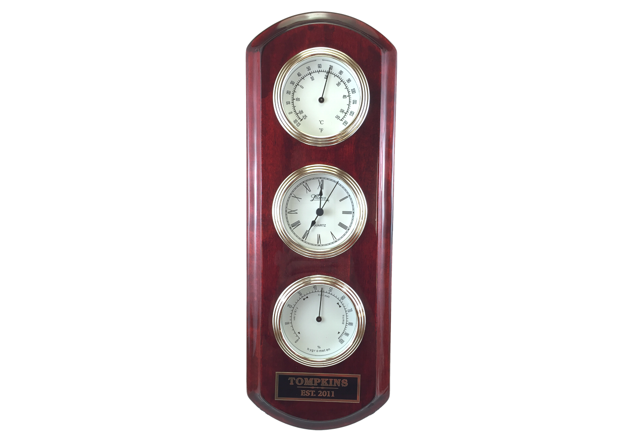 Barometer Temperature Clock