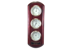 Barometer Temperature Clock