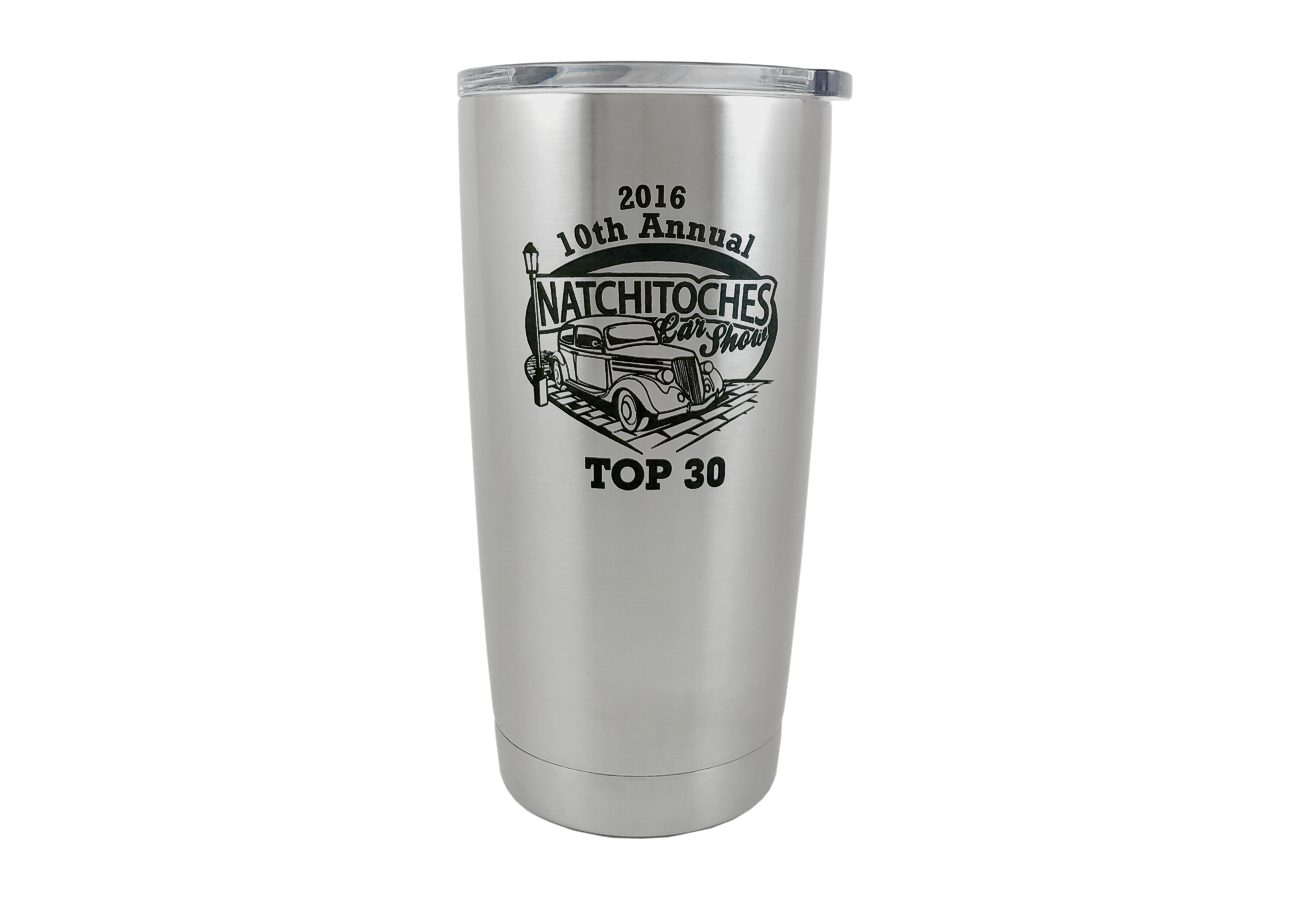 Engraved Stainless Steel Tumbler