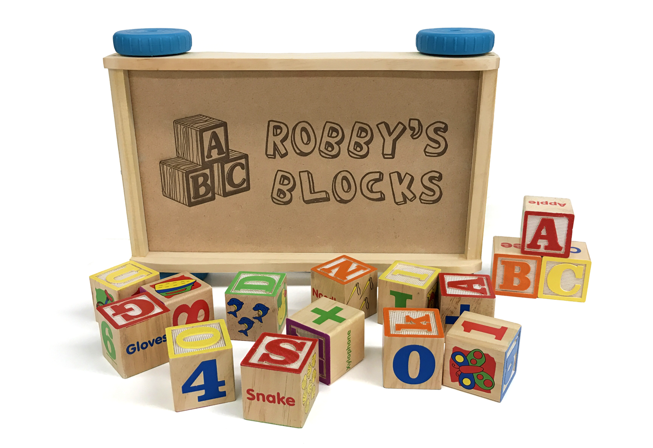 Engraved Toy Blocks