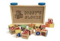 Engraved Toy Blocks
